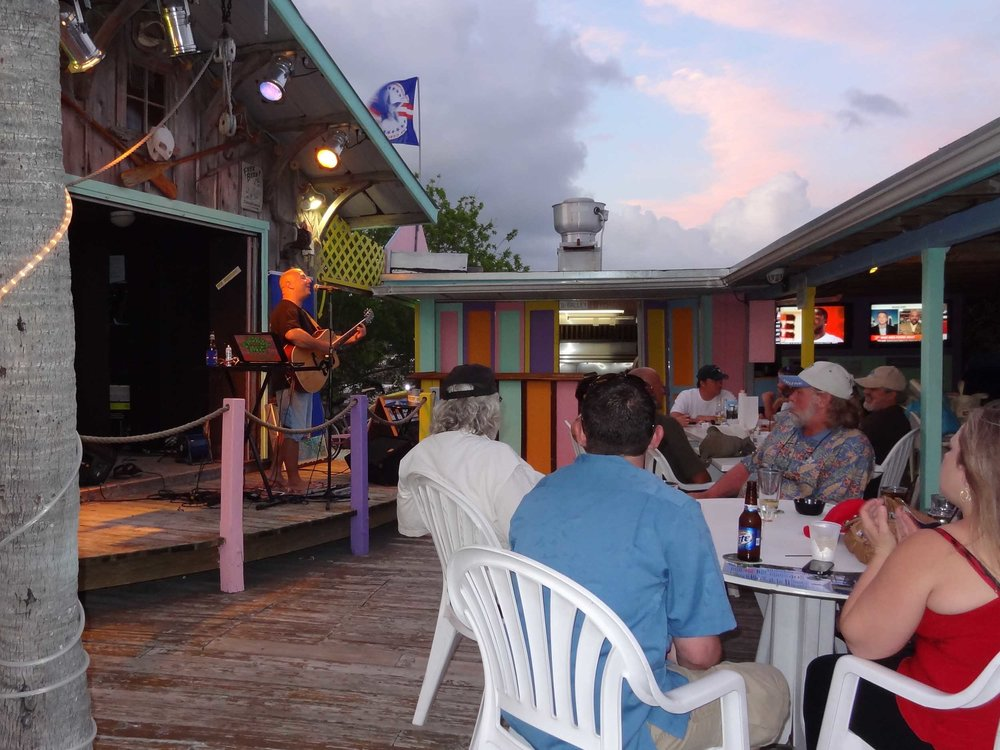 Snapper's Waterfront Restaurant Stage