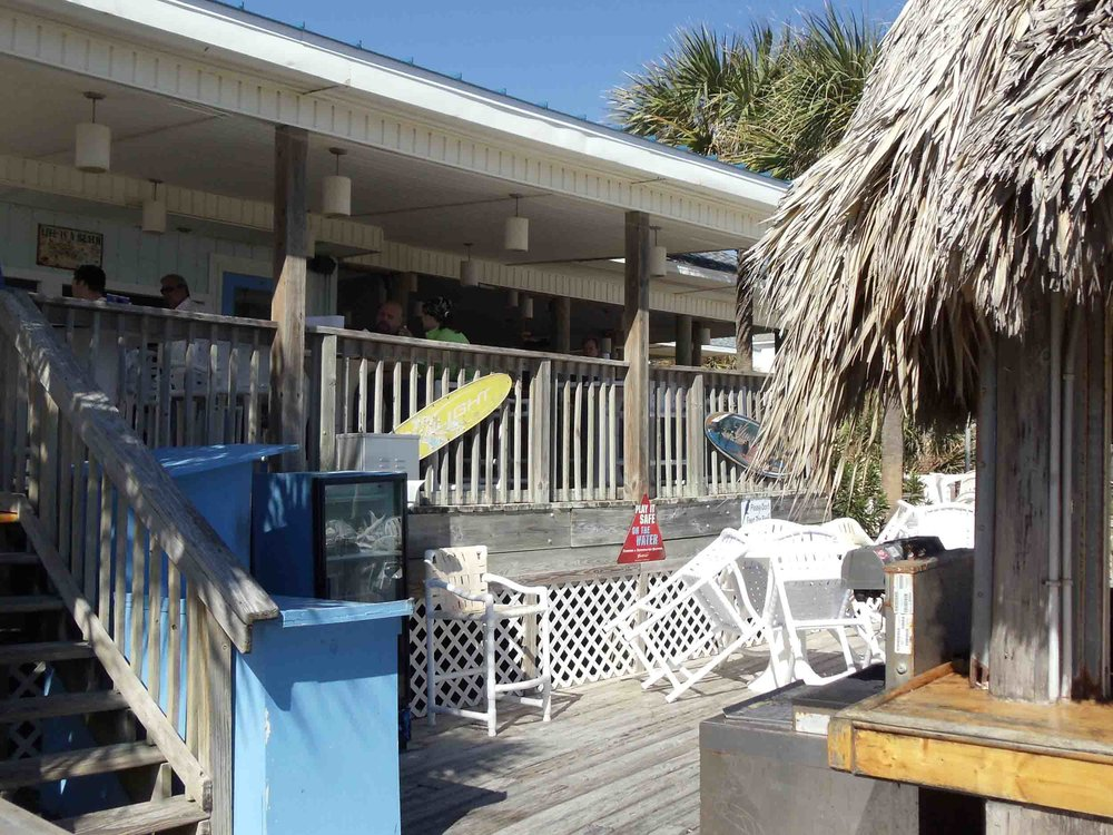 The Blue Parrot Oceanfront Cafe Patio