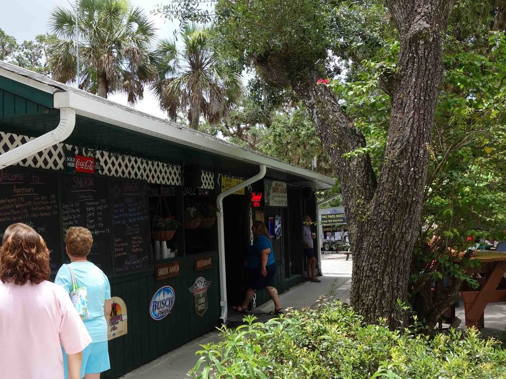 Snook Haven Ordering Area