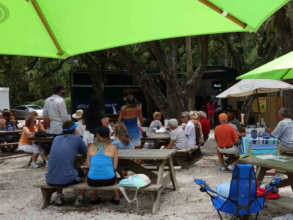 Snook Haven Picnic Tables