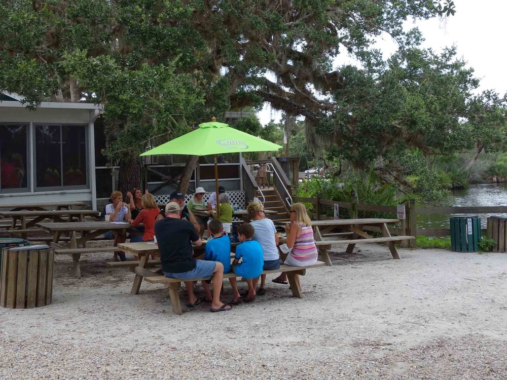 Snook Haven Dining Area