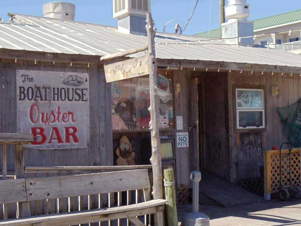 Boathouse Oyster Bar Entrance