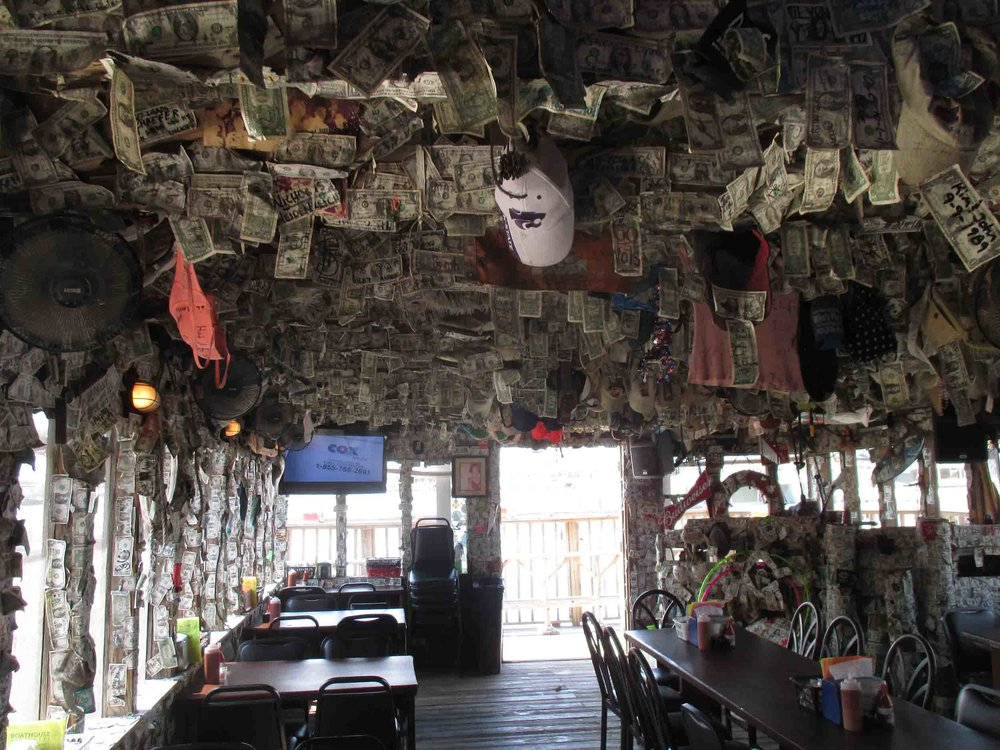 Boathouse Oyster Bar Interior