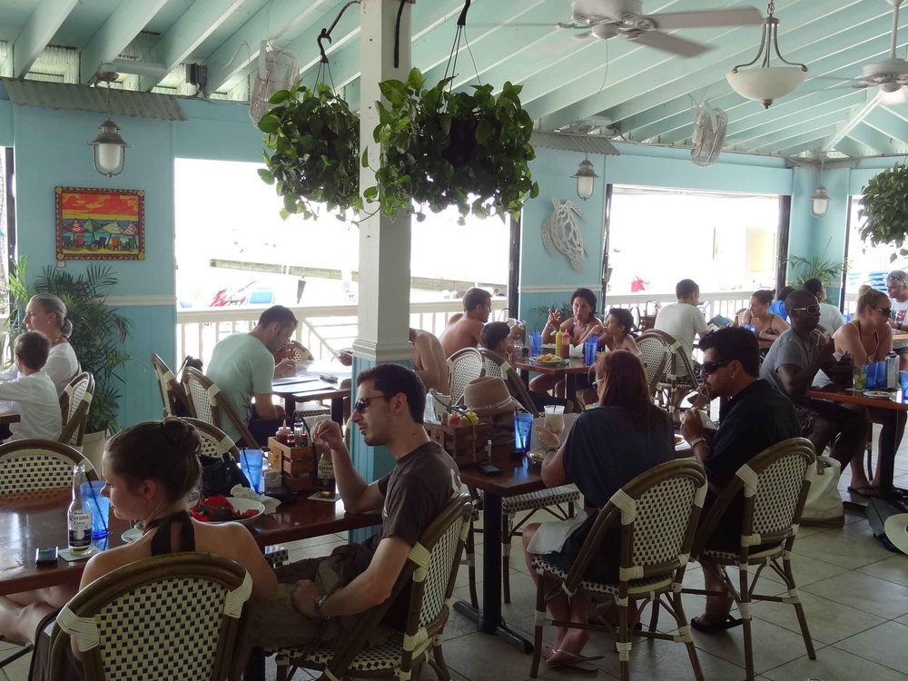 Southernmost Beach Cafe Dining Area