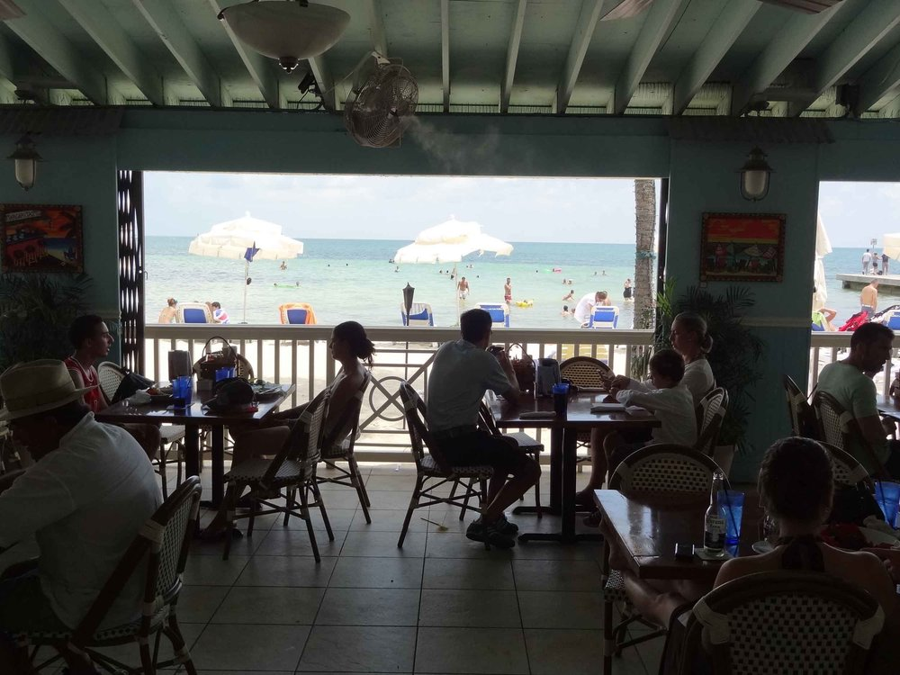 Southernmost Beach Cafe Water View