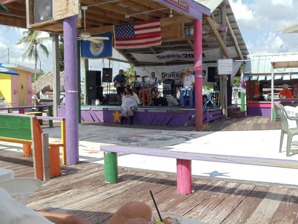 Stan's Idle Hour Stage