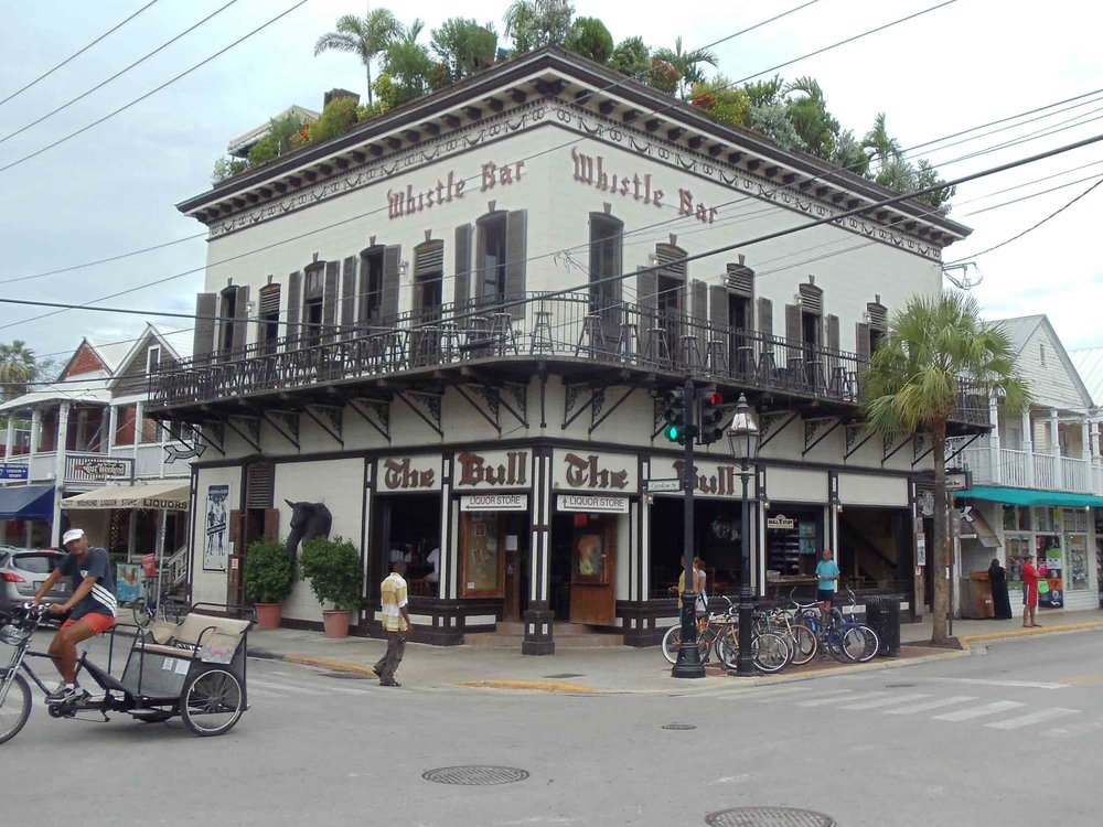 The Bull and Whistle Bar Exterior