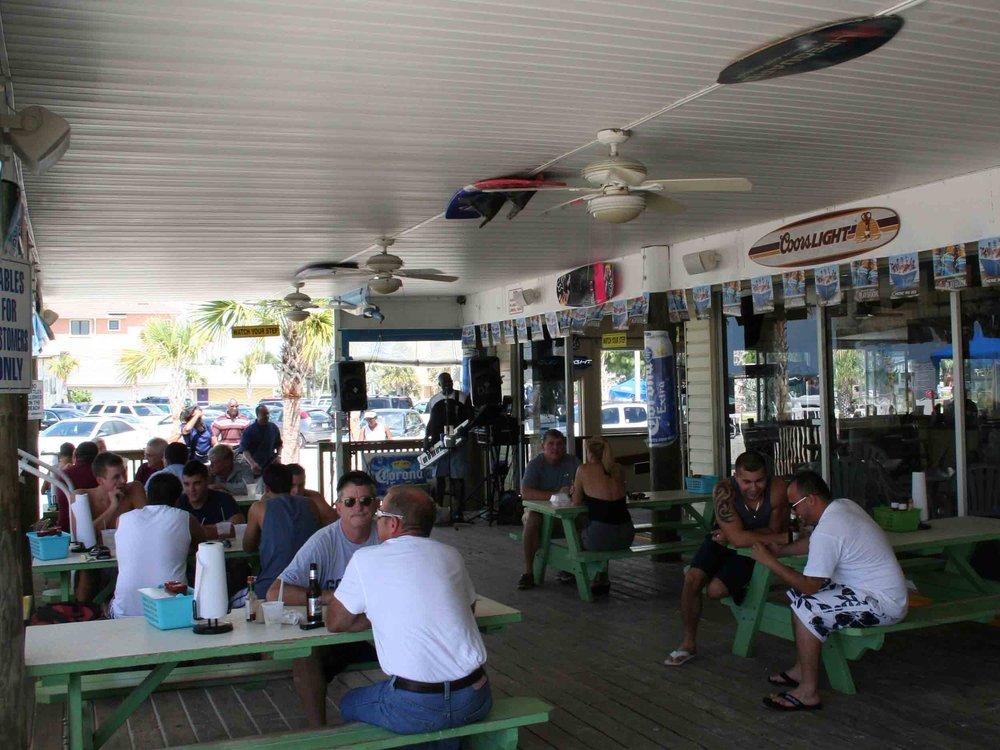 Caddy's on the Beach Bar