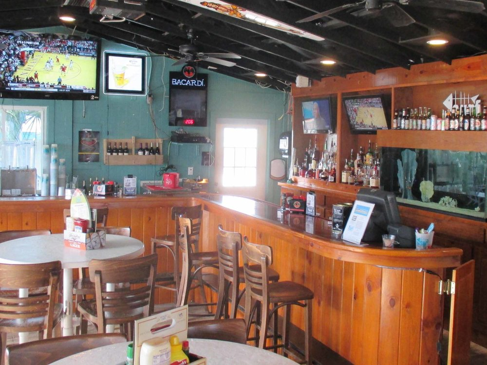 The Surf Restaurant and Bar Interior