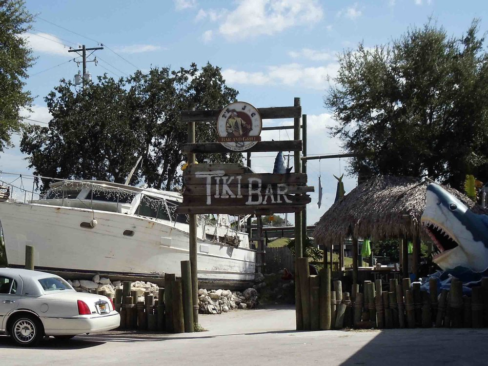 Capt'n Jack's Bar and Grill Entrance