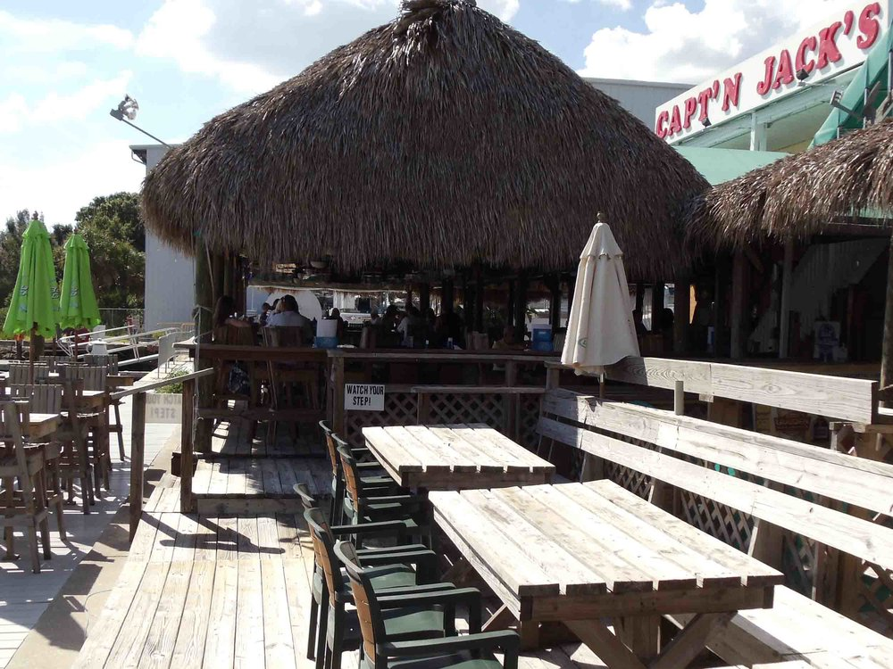 Capt'n Jack's Bar and Grill Tiki Hut