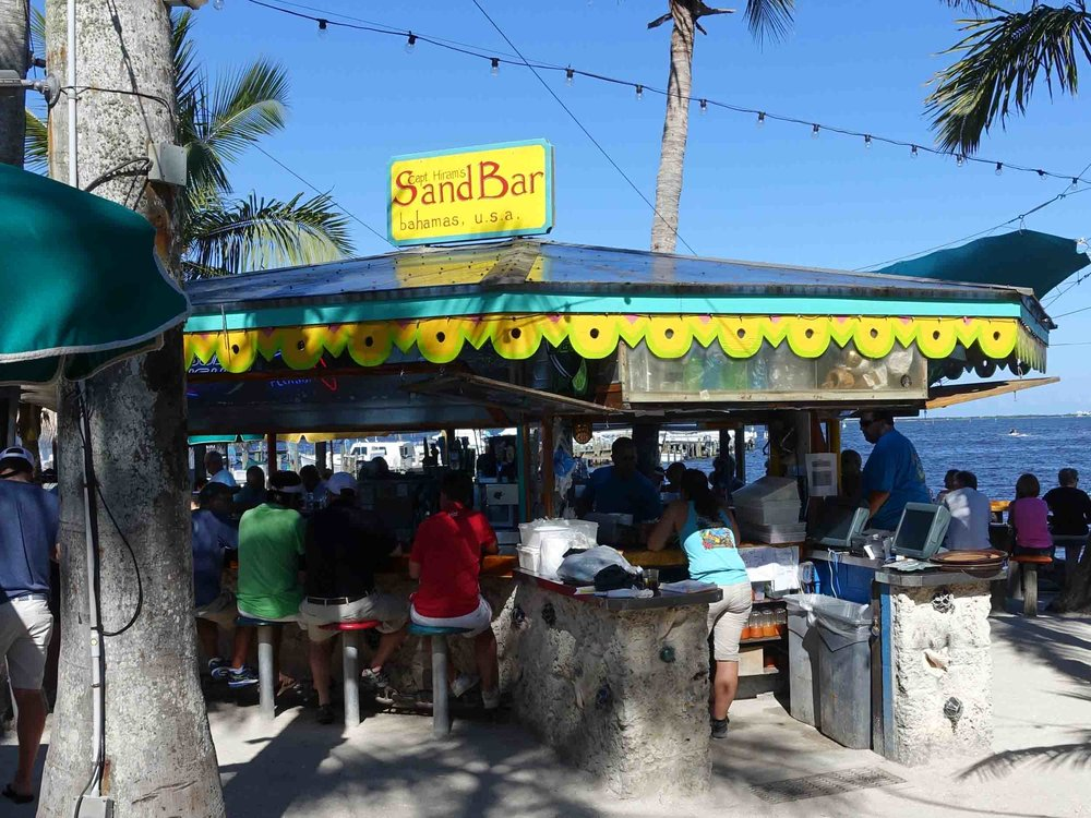 Captain Hiram's Sandbar Outside Bar