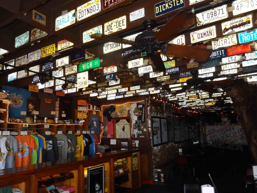 Captain Tony's Saloon Merchandise