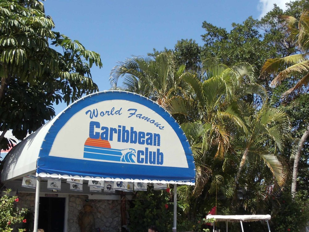 Caribbean Club Entrance