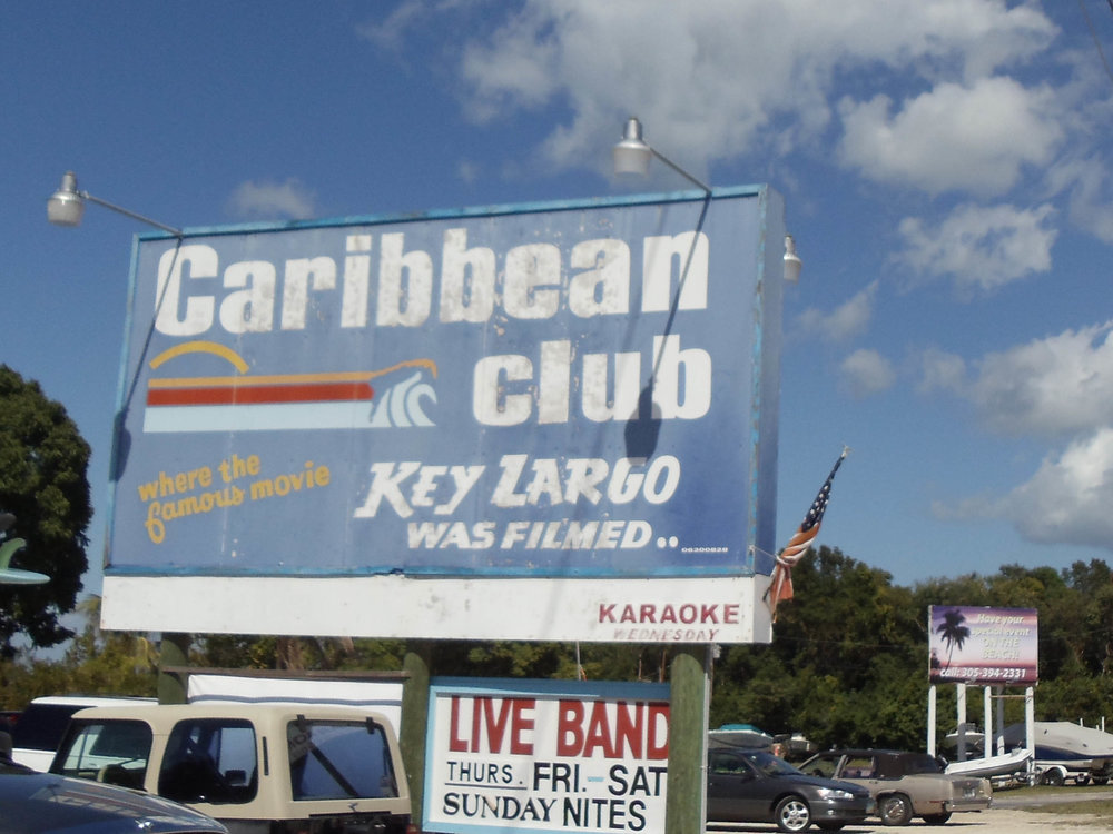 Caribbean Club Sign