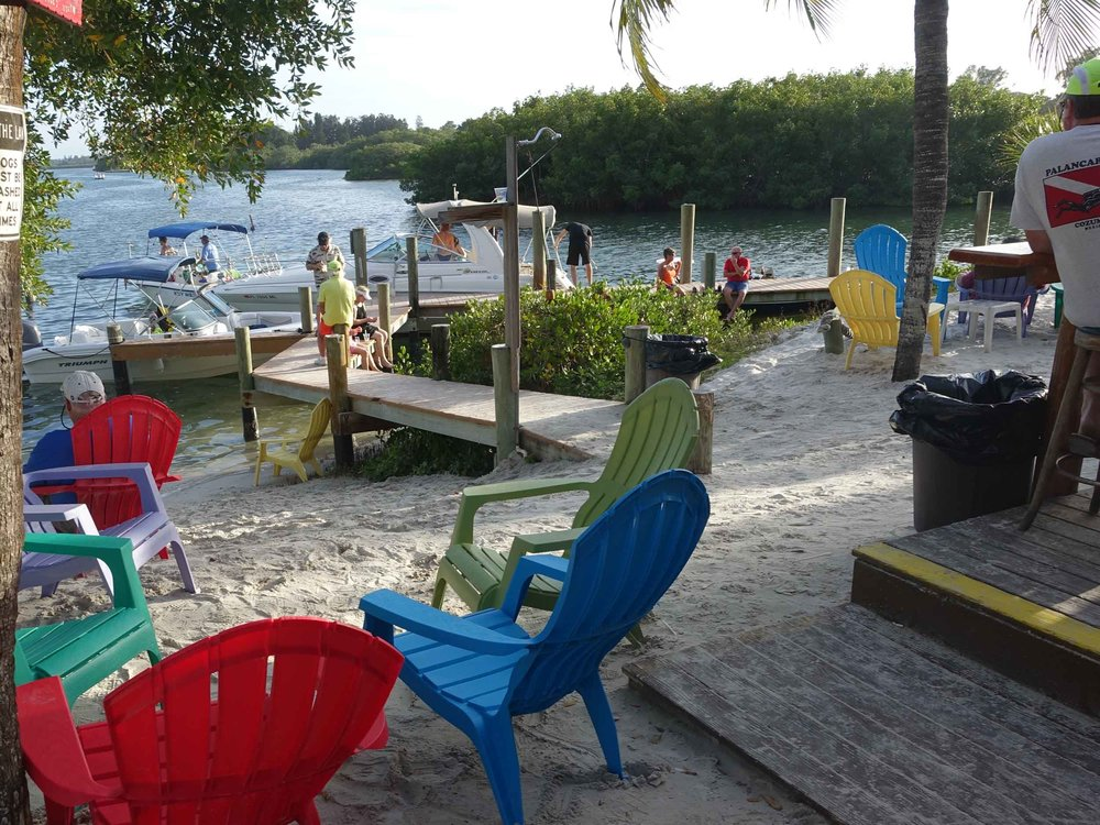 Casey Key Fish House Beach Seating