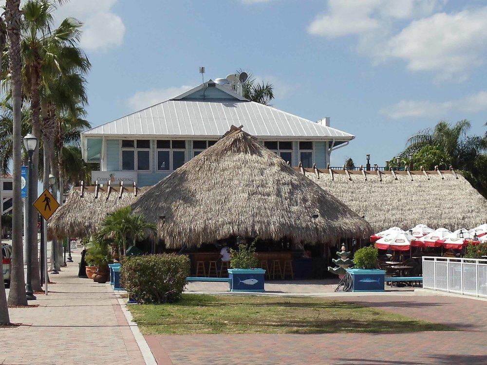 Cobb's Landing Exterior Tiki Hut