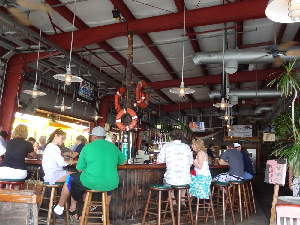 Conch Republic Seafood Company Interior Bar