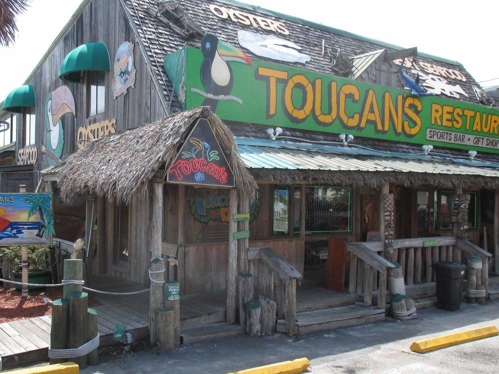 Toucan's Tiki Bar Exterior
