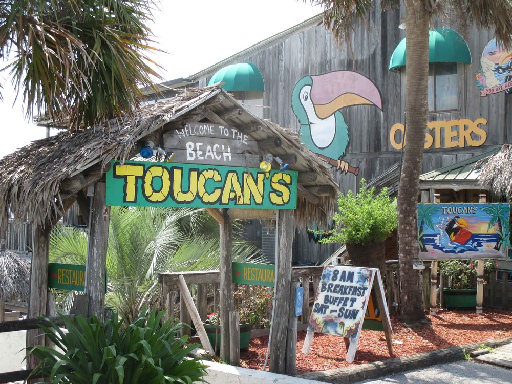 Toucan's Tiki Bar Entrance
