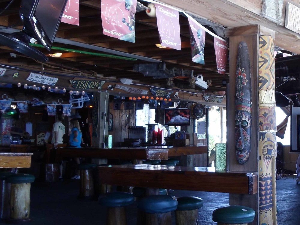Toucan's Tiki Bar Interior