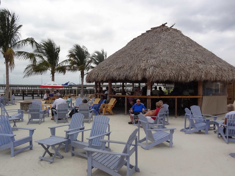 TT's Tiki Bar Seating Area