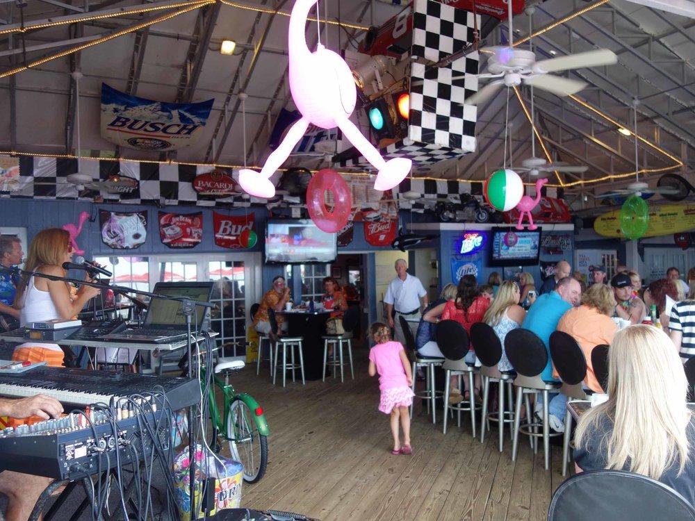 Racing's North Turn Interior