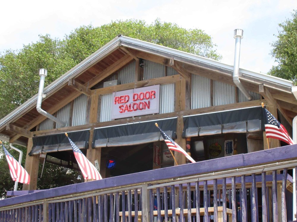 The Red Door Saloon Exterior