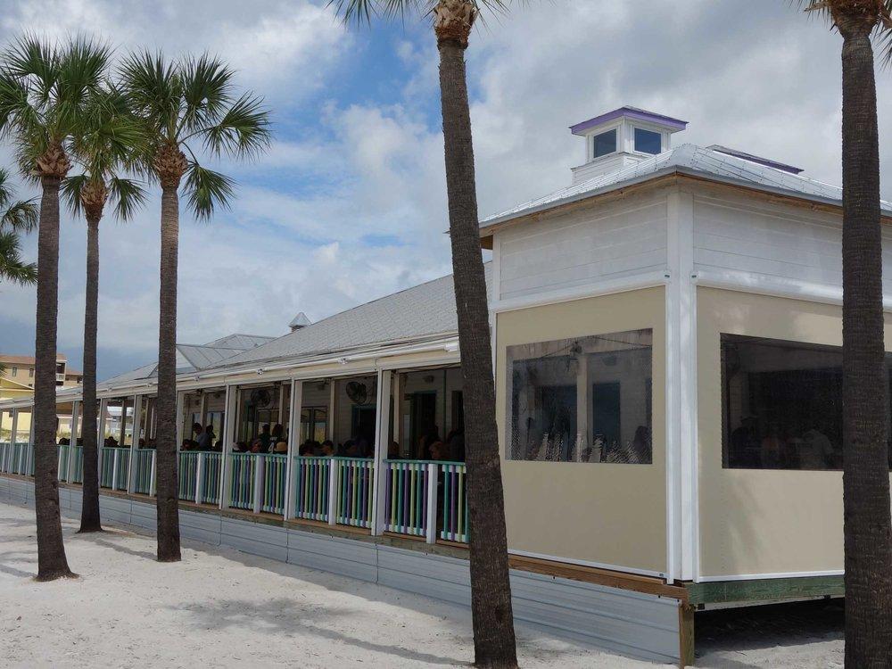 Palm Pavilion Exterior