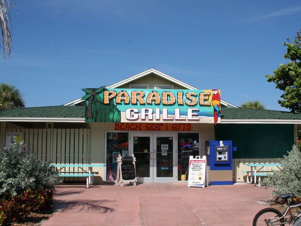 Paradise Grille Entrance