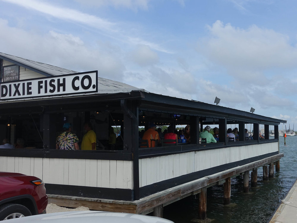 Dixie Fish Company Patio