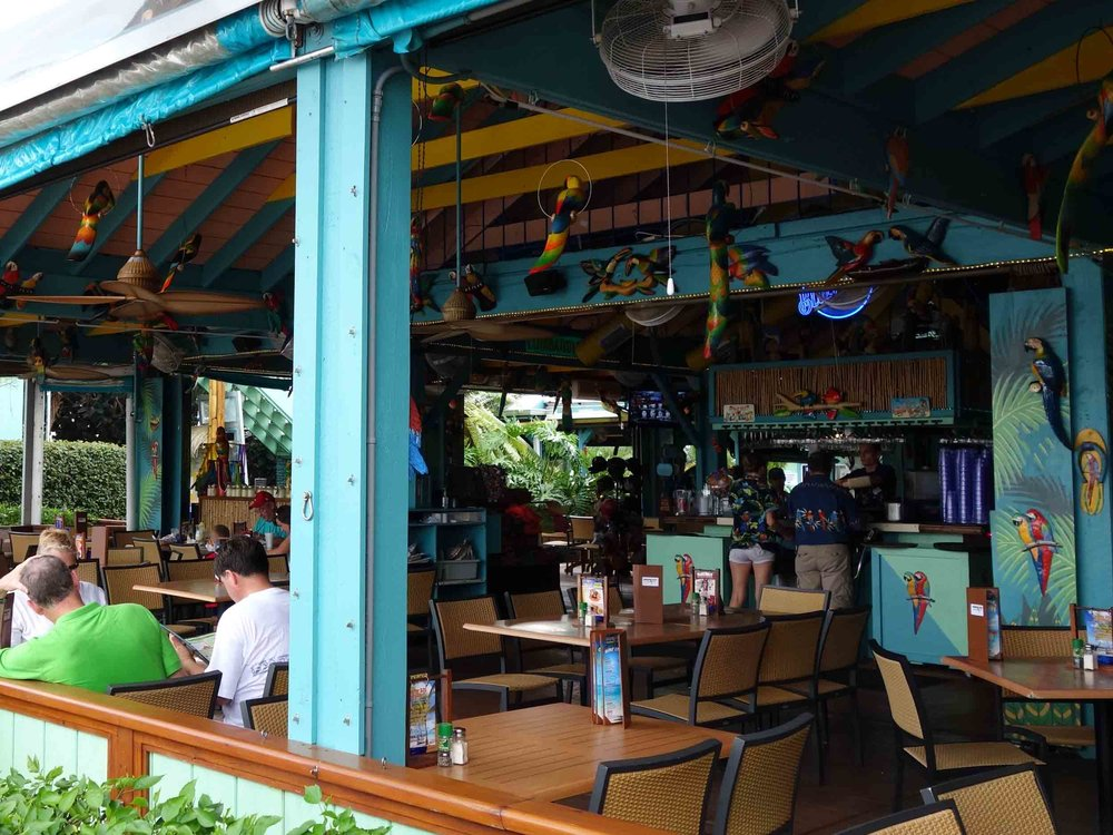 Parrot Key Caribbean Grill Dining Area
