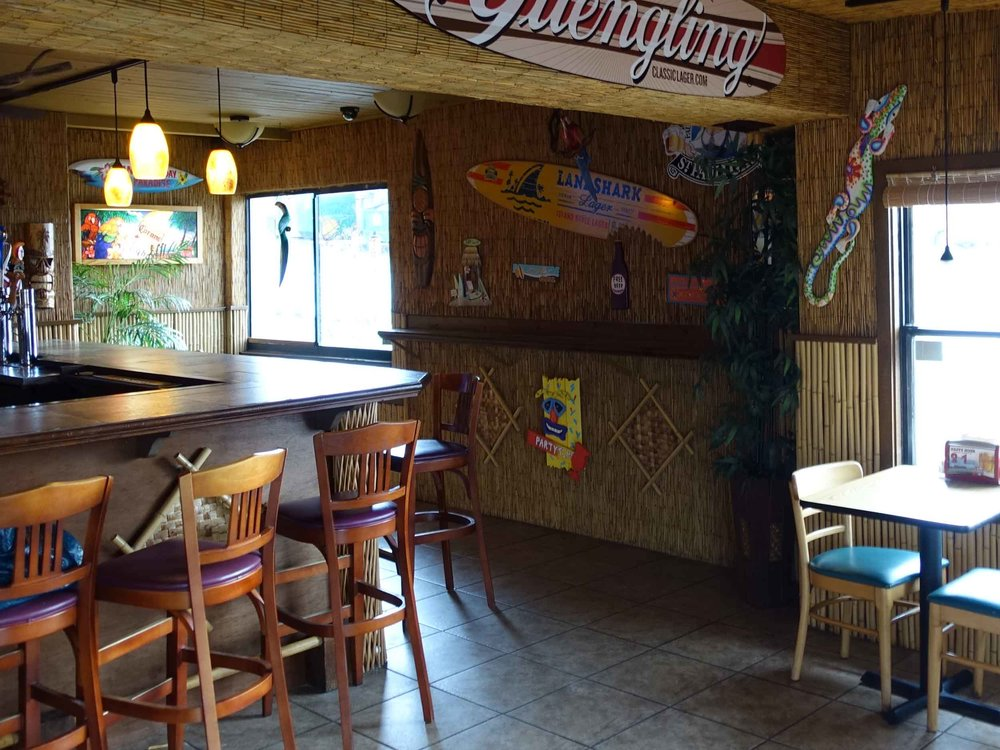 Paula's Beachside Grill Interior