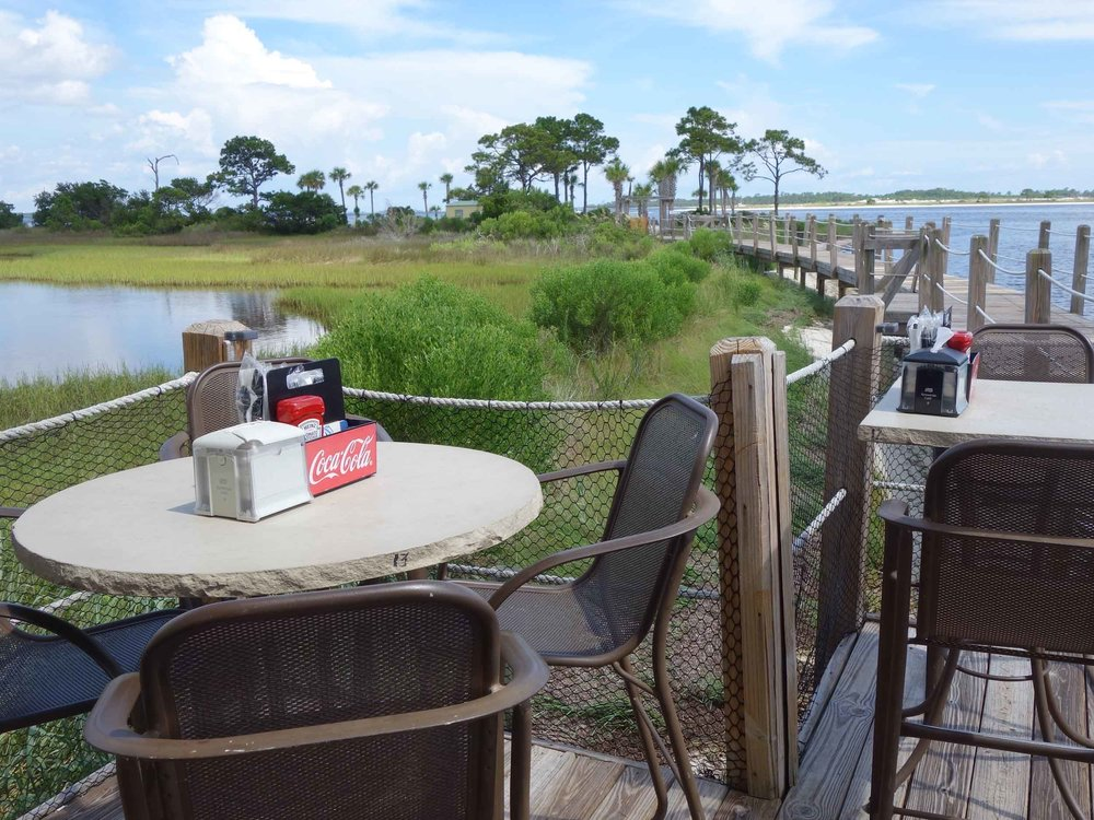 Pelican's at Bay Point Resort Tables