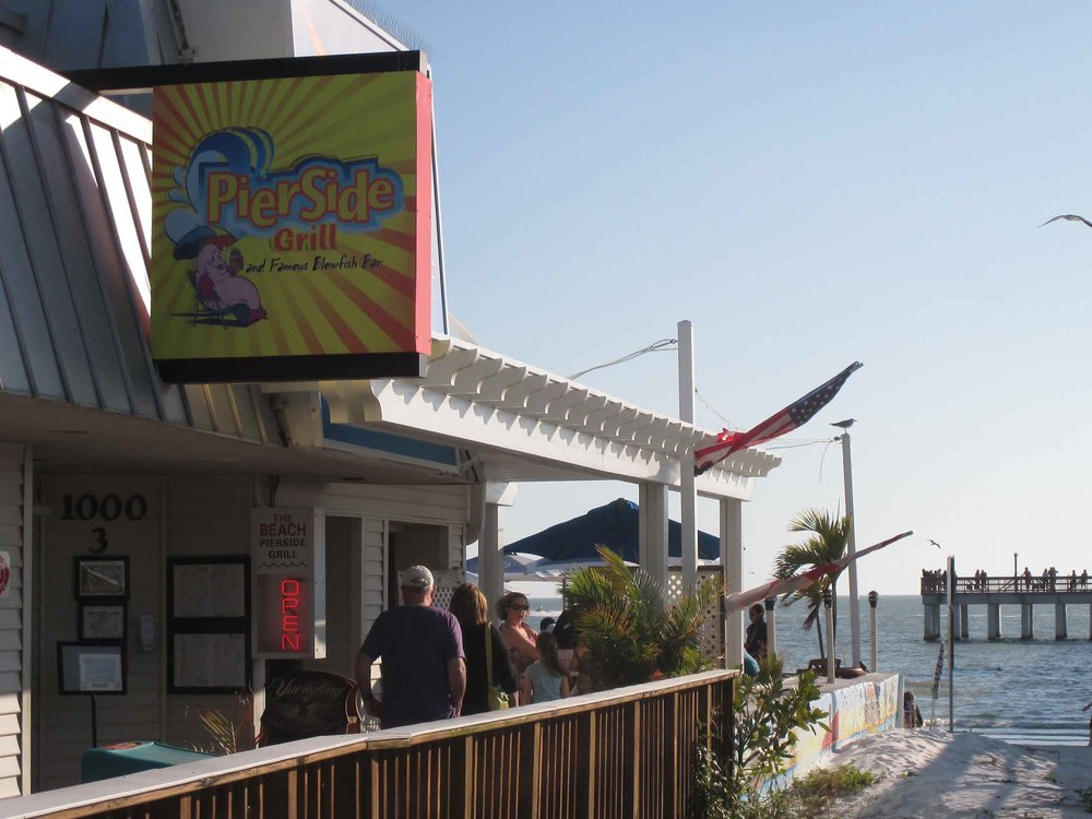 Pierside Grill and Famous Blowfish Bar Exterior