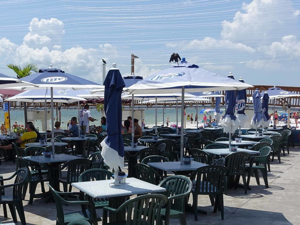 Pierside Grill and Famous Blowfish Bar Seating Area