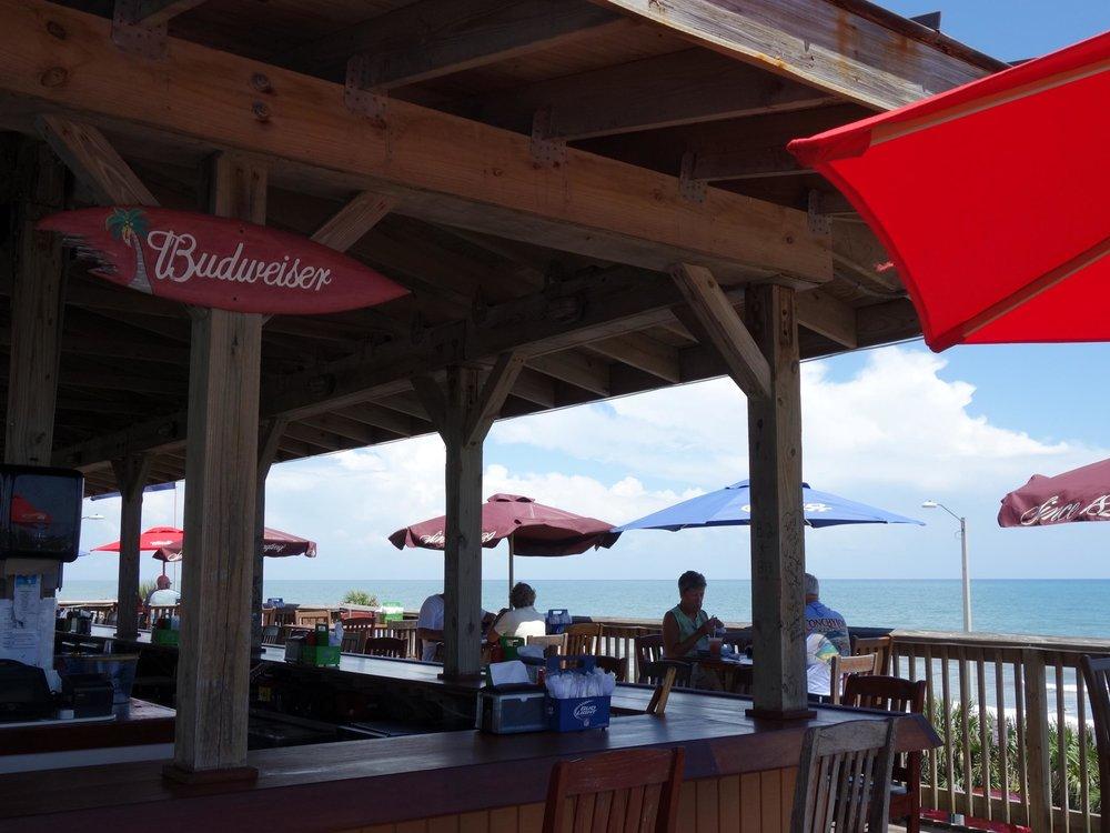 Finn's Beachside Pub Upper Deck