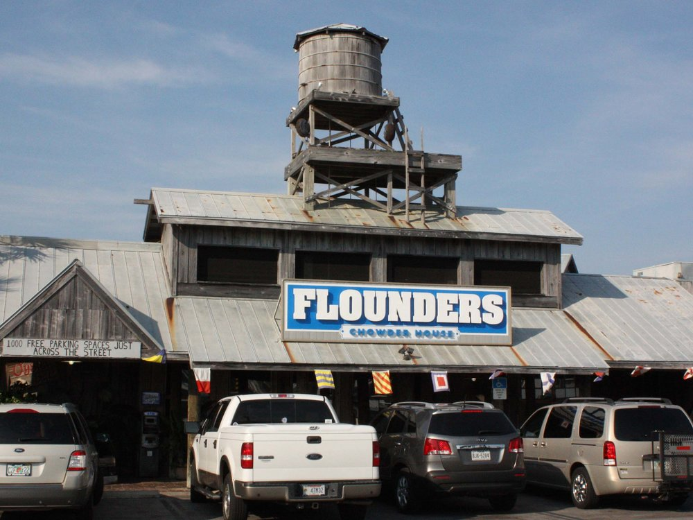 Flounder's Chowder House Entrance