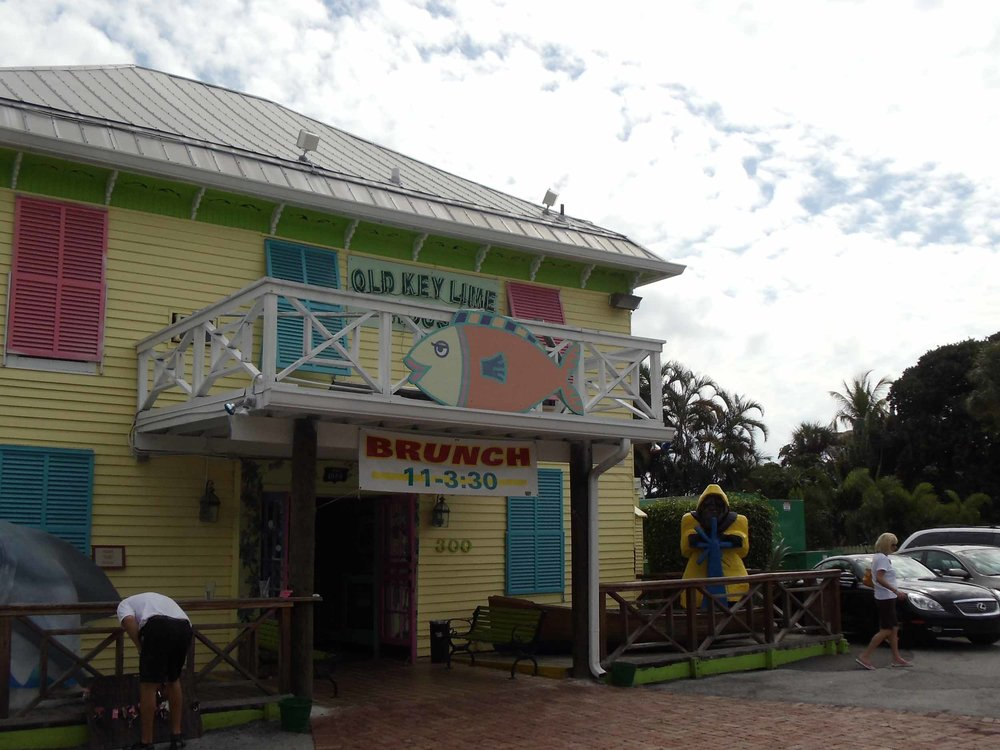 Old Key Lime House Entrance