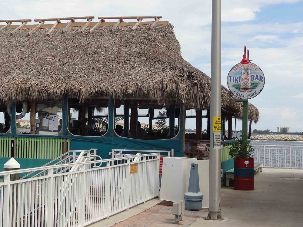 Original Tiki Bar Exterior