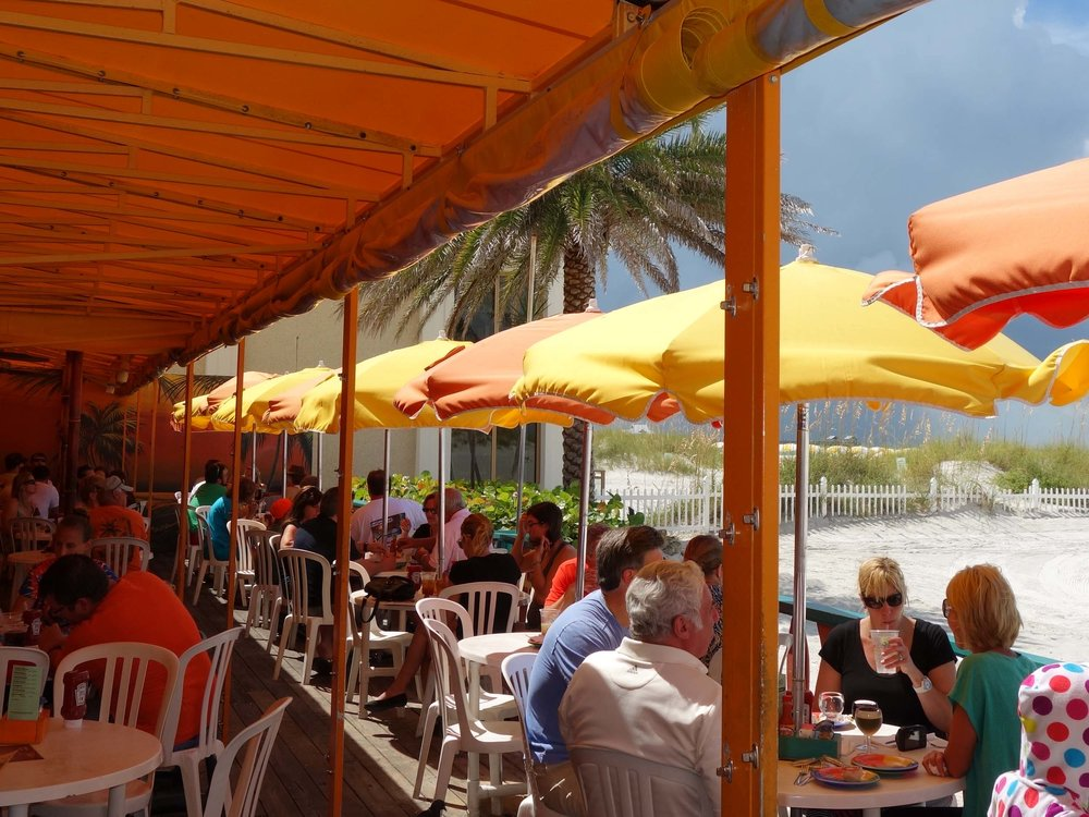 Frenchy's Rockaway Grill Patio