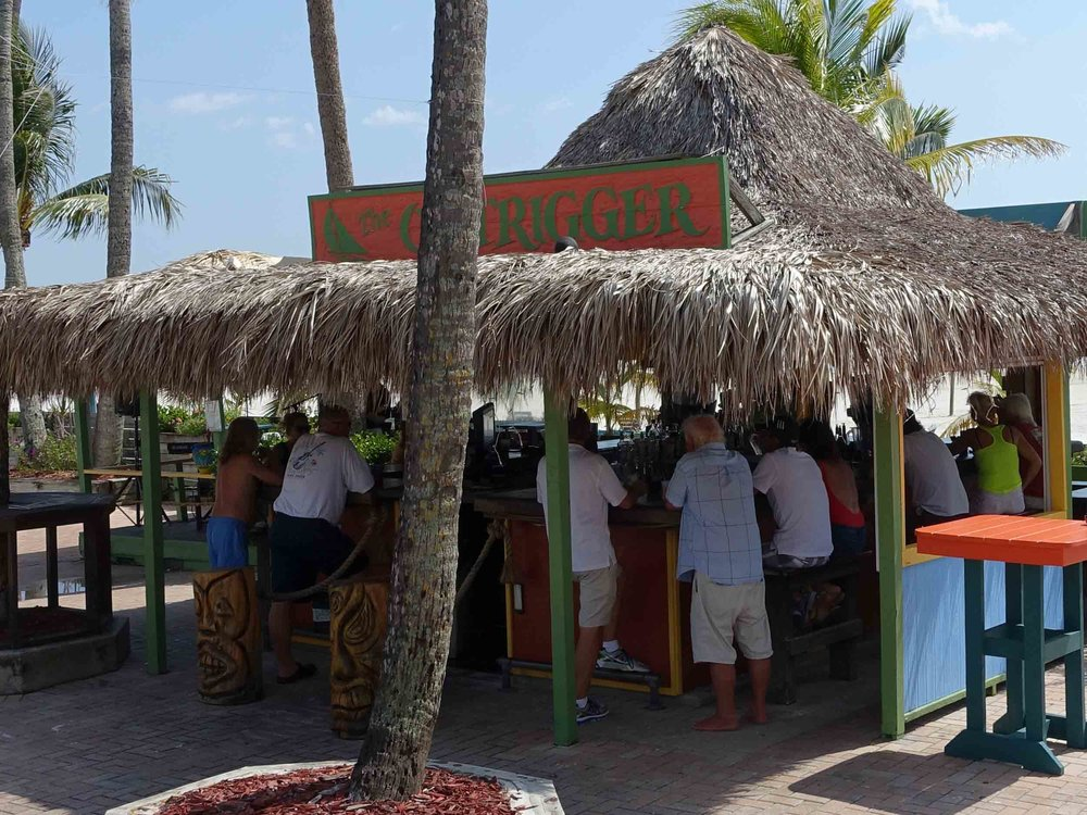 Outrigger Tiki Bar Area