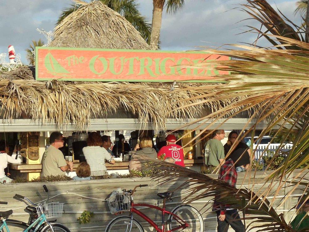 Outrigger Tiki Bar Exterior