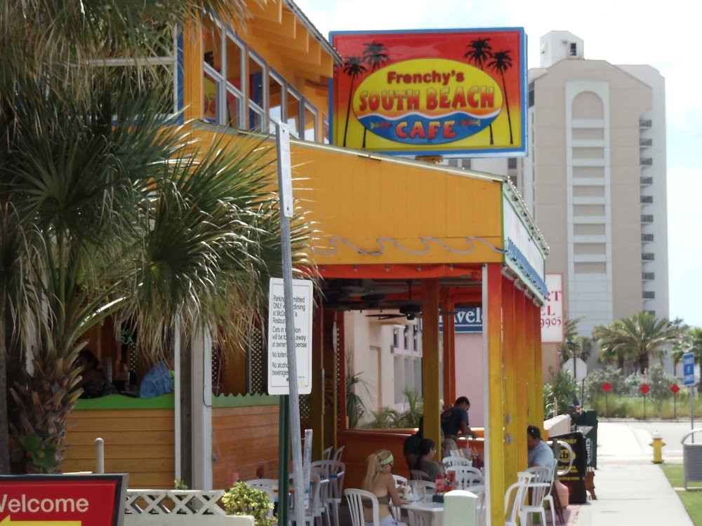 Frenchy's South Beach Cafe Entrance