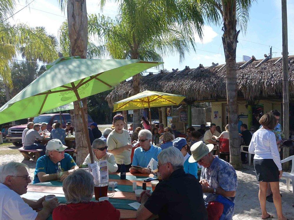 Nav-A-Gator Grill Dining Area