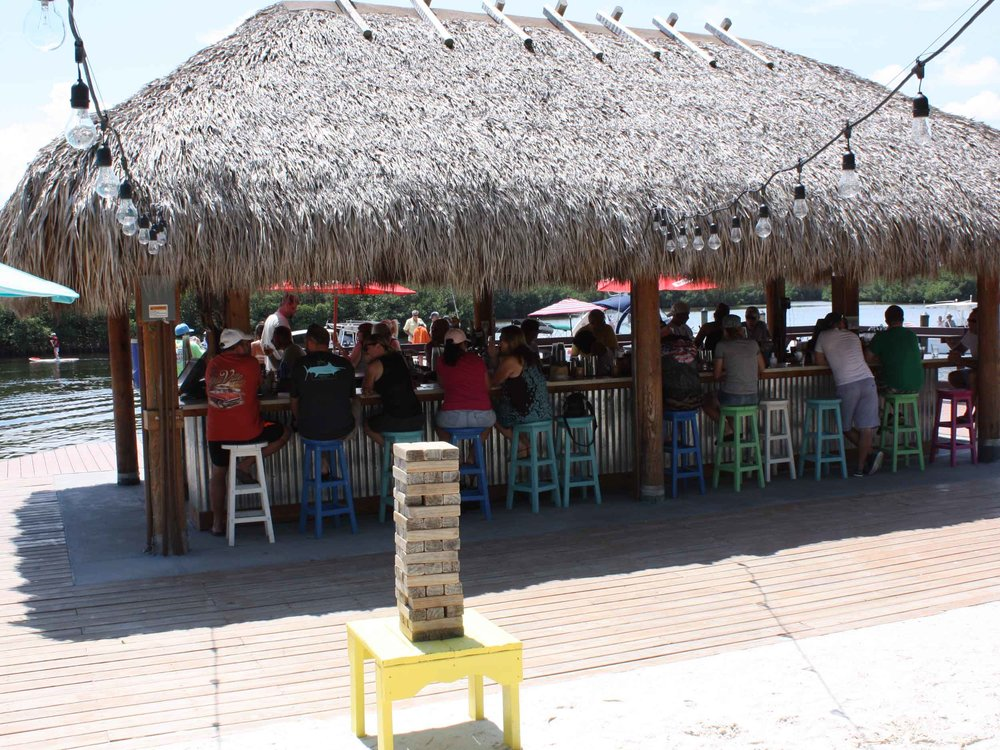 The Getaway Tiki Bar Water View