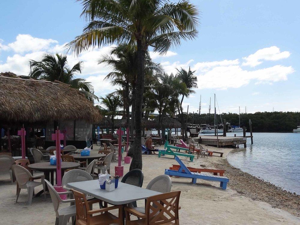 Gilbert's Resort Sand Seating Area