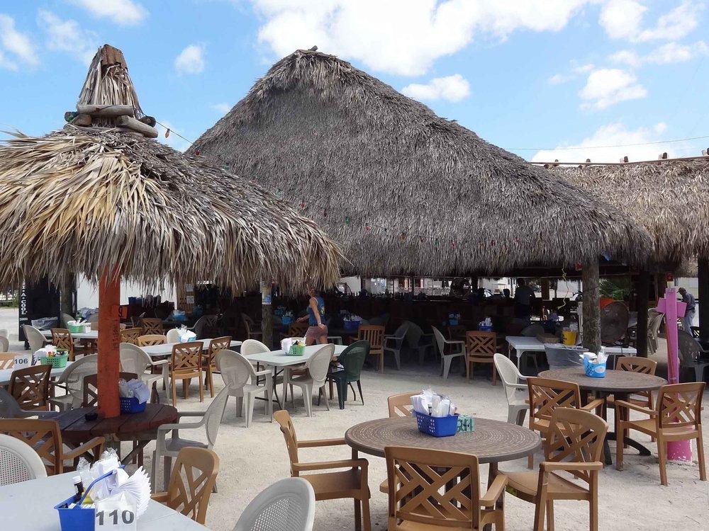 Gilbert's Resort Tiki Bar Seating Area