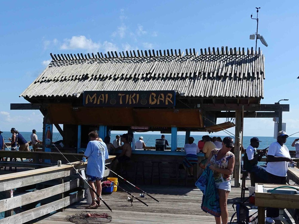 Mai Tiki Bar at Cocoa Beach Pier