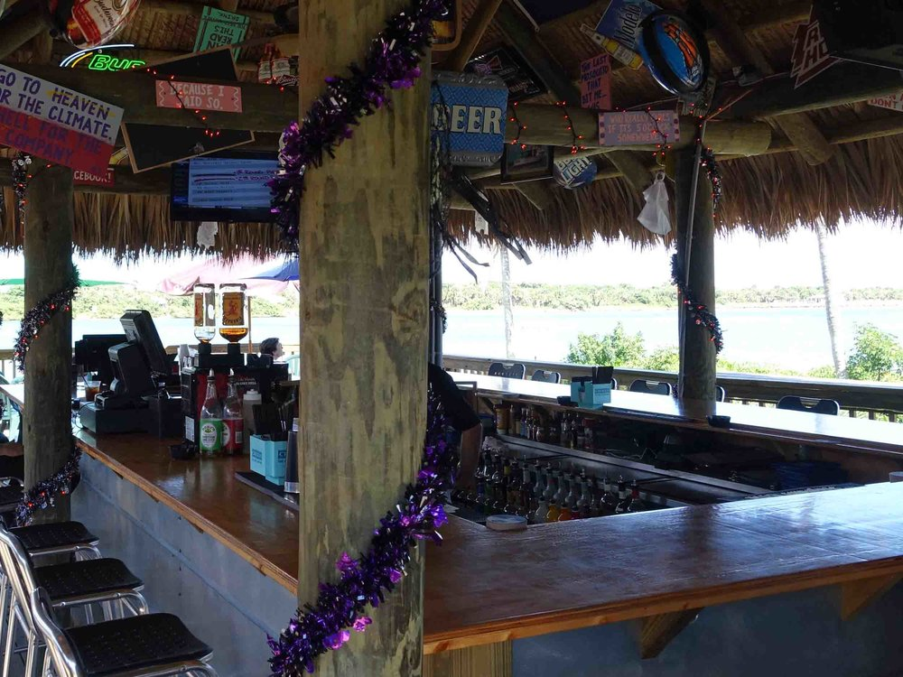 Manatee Island Bar and Grill Bar Area